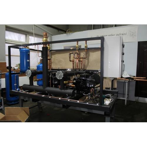 Среднетемпературный агрегат 2 компрессора UMCF-S-2xYM182E1G-100